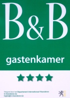 Gastenkamer / Guestroom - Inblauw B&B - 4 stars - **** - luxury - wellness - exclusive - pool - sauna