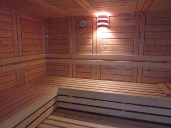 privé sauna gastenkamer Inblauw b&b - private sauna guestroom Inblauw b&b