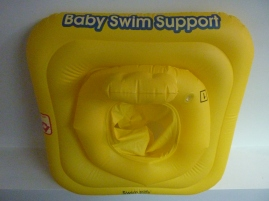 zwembandje - baby swim support - geel - water - zwembad - Inblauw B&B